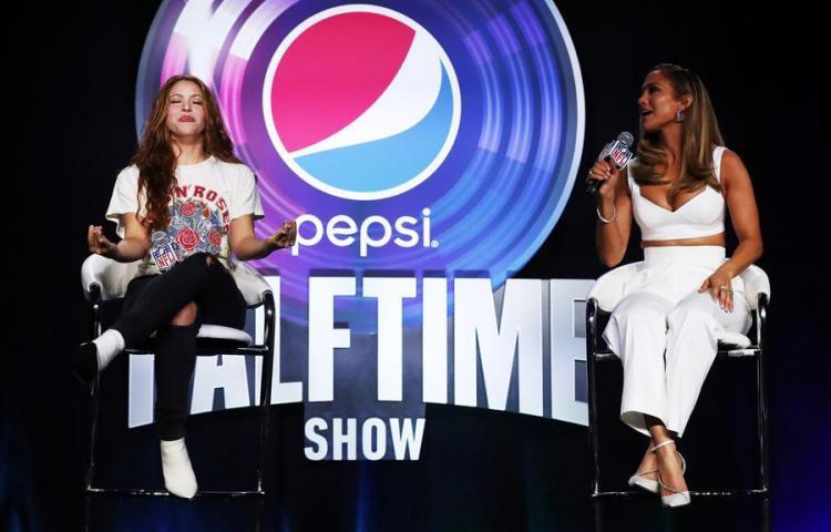 """JLo y Shakira: """"Haremos homenaje a latinos y a nuestra cultura"""" en Super Bowl"""