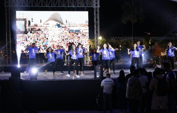Conmemoran el primer aniversario de la JMJ 2019