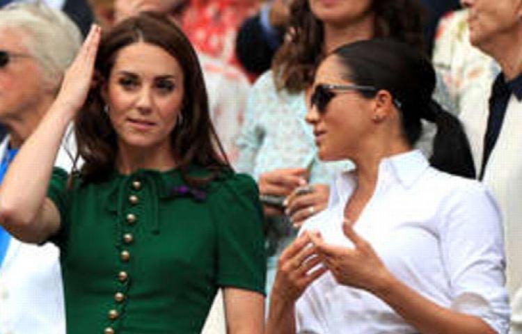 Kate llora por Meghan Markle y el Príncipe Harry