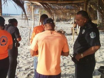 Encuentran el cuerpo de bañista en playa Corona
