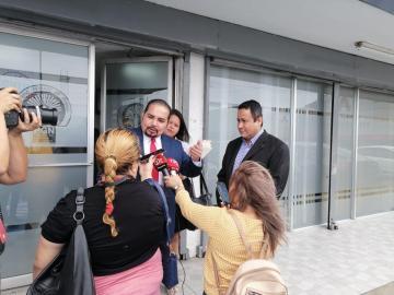 Periodista Raúl López Aranda presenta denuncia ante el Ministerio Público