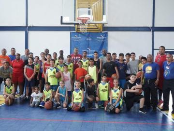 Herrera, con baloncesto para los más jóvenes