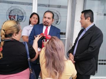 Periodista Raúl López Aranda presentó denuncia ante el MP