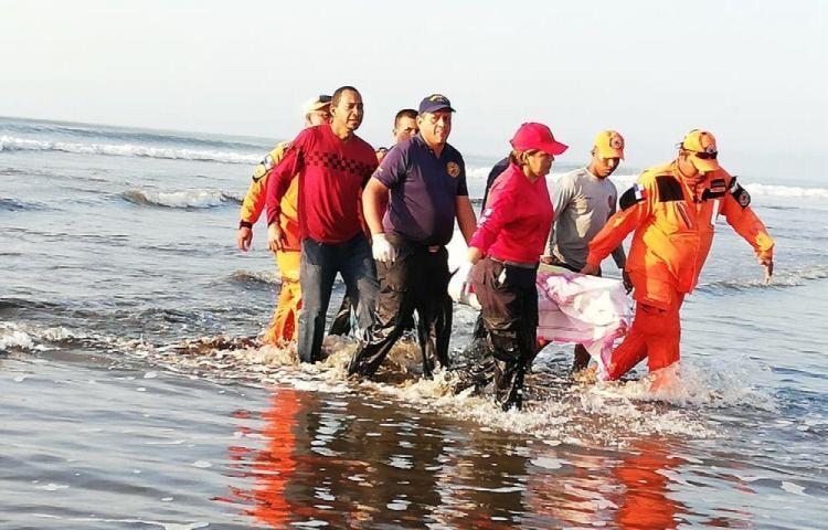 Hallaron el cuerpo del héroe de playa Corona