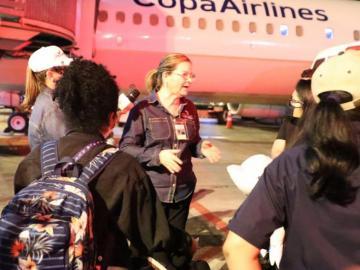 Llegada de estudiantes de China a Sinaproc, en Howard, causó preocupación
