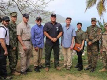 Subsecretario de defensa de E..E.U.U visita Puerto Obaldía