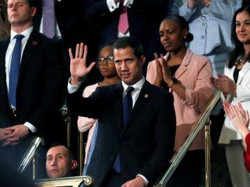 Trump recibe este miércoles en la Casa Blanca a Juan Guaidó