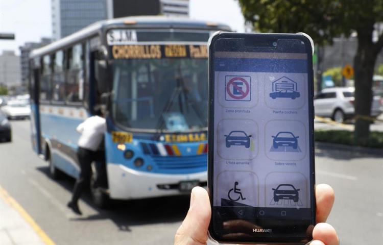Ojo Vial, la aplicación para denunciar infracciones de tránsito en Lima
