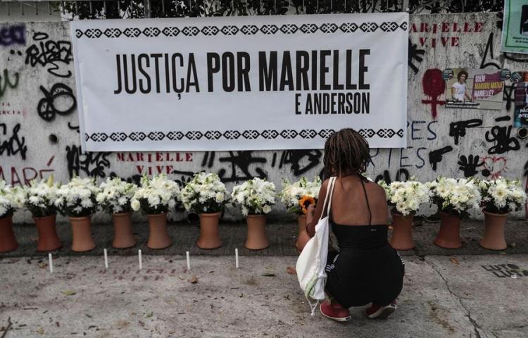 Abaten en Brasil a jefe miliciano investigado por muerte de Marielle Franco