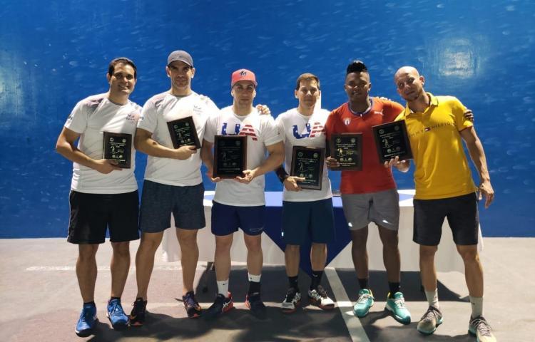 Estados Unidos conquistó el Panamá Open 2020 de frontenis