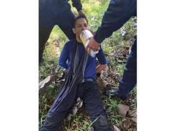 Policía recaptura a Ventura Ceballos en El Salado de Remedios