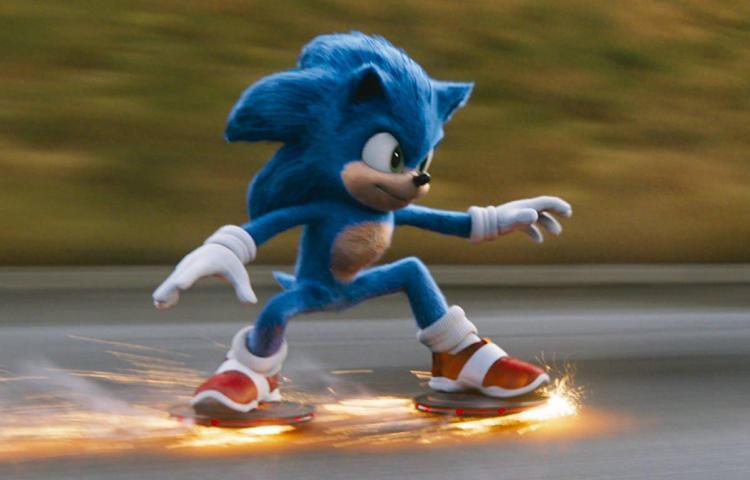 Sonic pasa del videojuego al cine