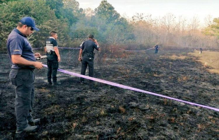 Hallaron a anciano desaparecido muerto en incendio de una finca en Los Santos