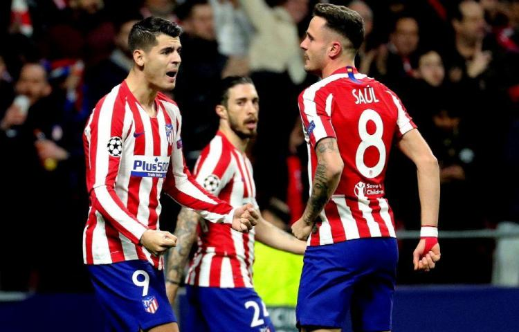 Atlético le pegó primero al duro Liverpool