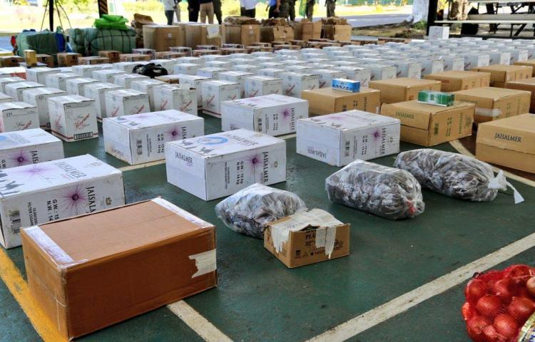 Senafront decomisa mercancía de contrabando en Darién