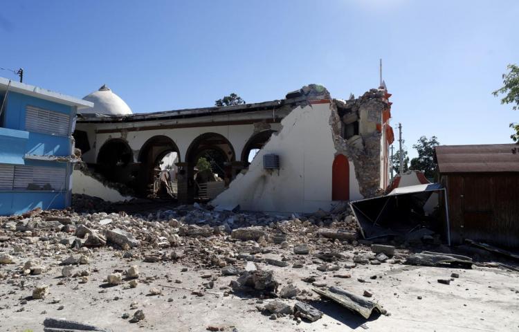 Firman en Puerto Rico una orden para demoler las estructuras afectadas por los sismos