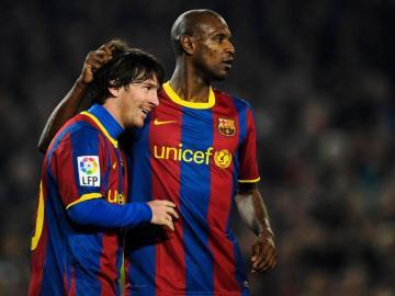 """Abidal, en desencuentro con Messi: """"He aprendido muchas cosas en pocos días"""""""