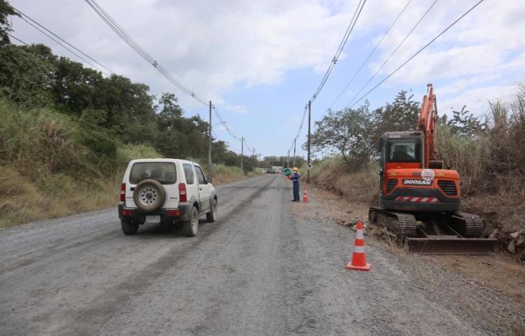 Gobierno iniciará rehabilitación de la calle de acceso a la Planta de Tratamiento de Juan Díaz