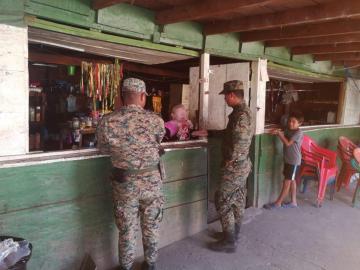 Senafront incauta 100 paquetes de sustancias ilícitas en Darién