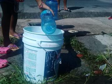 Sectores del Este siguen sin agua potable