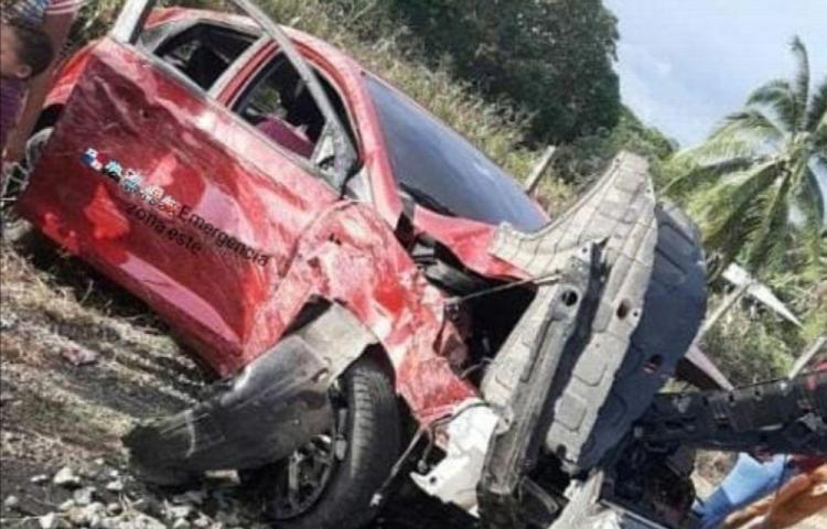 Mujer murió tras chocar y volcarse en La Piedra en Tortí