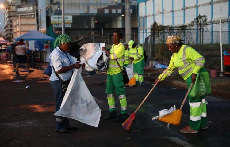 Carnaval de la Cinta Costera produjo 90 toneladas de basura