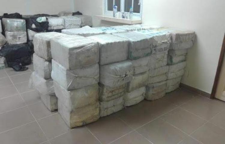 Decomisan más de 1.000 paquetes de droga en frontera entre Panamá y Colombia