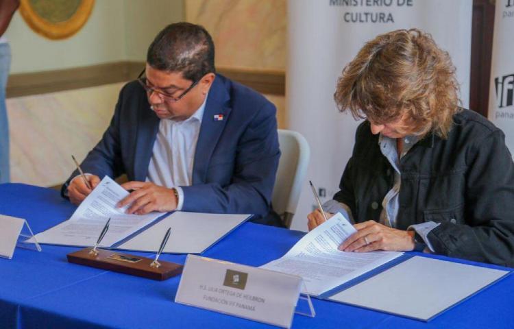 MiCultura firma convenio con la Fundación IFF Panamá