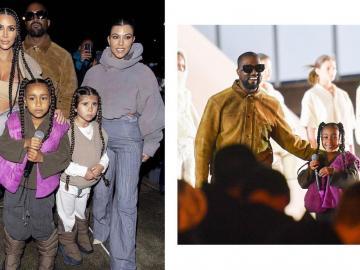 Hija de Kim Kardashian debuta como rapera en desfile de modas en París