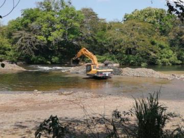 Sequía afecta nivel de ríos en Santiago