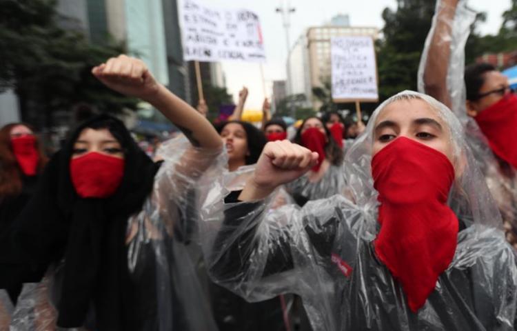 No más asesinatos de mujeres, el fragor de la revolución feminista en América