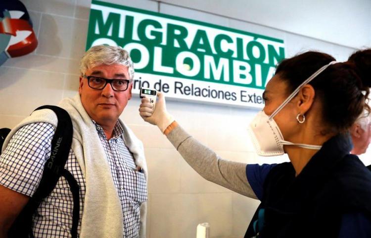 Colombia confirma dos nuevos casos de coronavirus en viajeros llegados de España