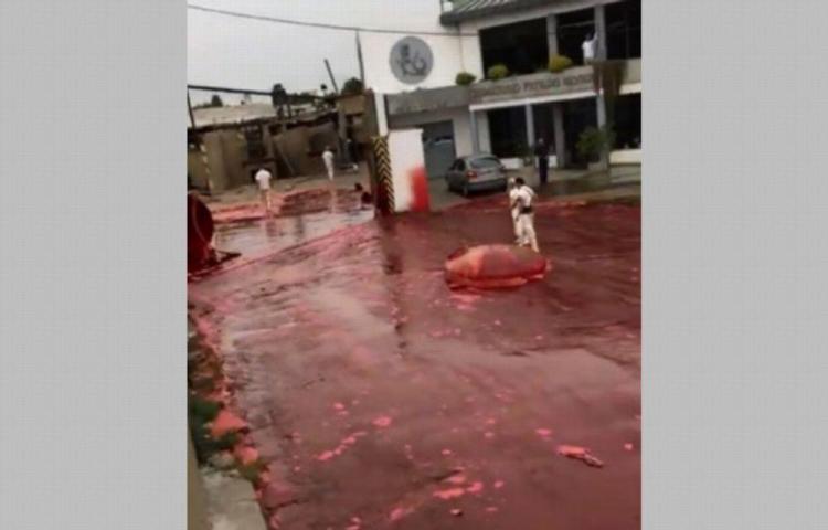 Barriada recibe un baño de sangre