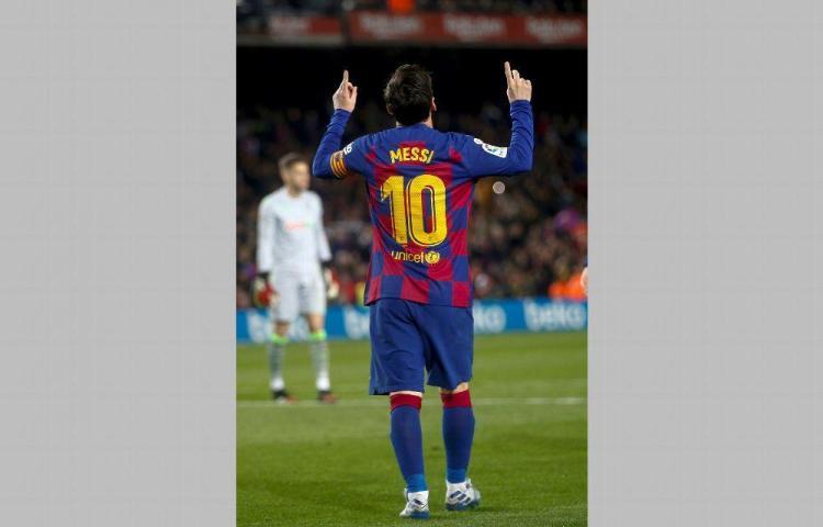 Messi anima al #QuédateEnCasa por coronavirus