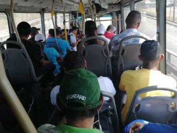 Viajar en metrobús en tiempos de coronavirus