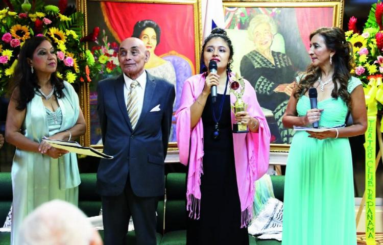 Anita Villalaz y Miguel Moreno, juntos