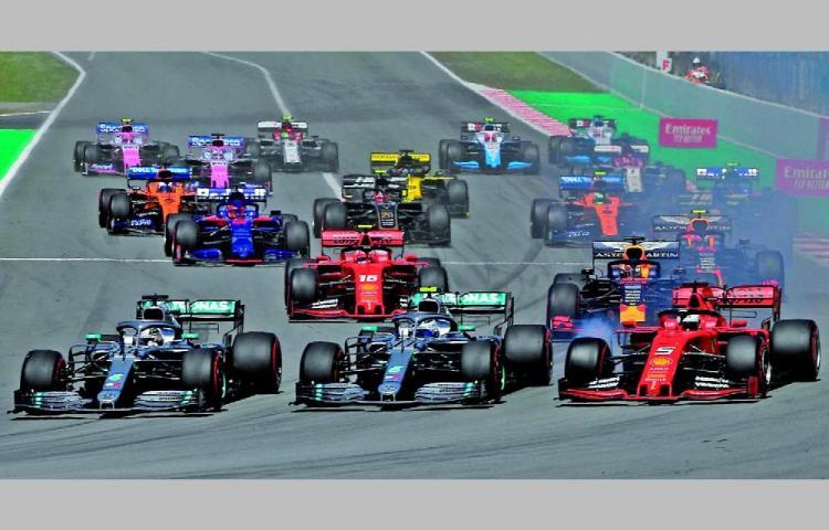 Fórmula 1, en bandera roja