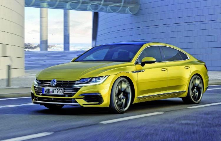 Volkswagen Arteon, con acabado R-Line