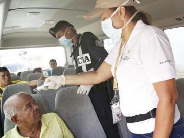 El coronavirus llega a más zonas del país