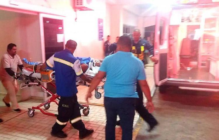 Cuatro hombres fueron baleados en La Chorrera