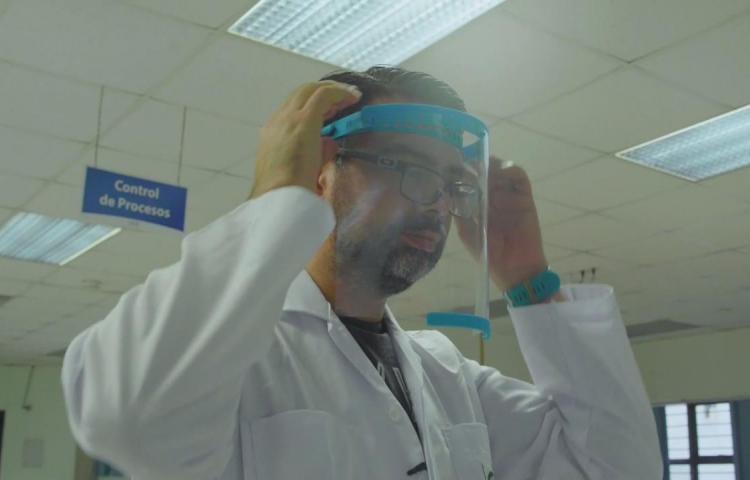 La tecnología 3D busca dar una mano al combate al coronavirus en Costa Rica