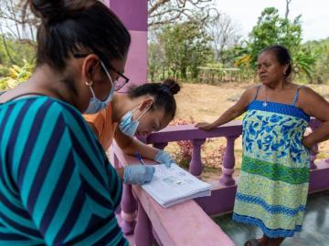 El Plan Panamá Solidario no se detiene y llega a Las Palmas, en la provincia de Veraguas