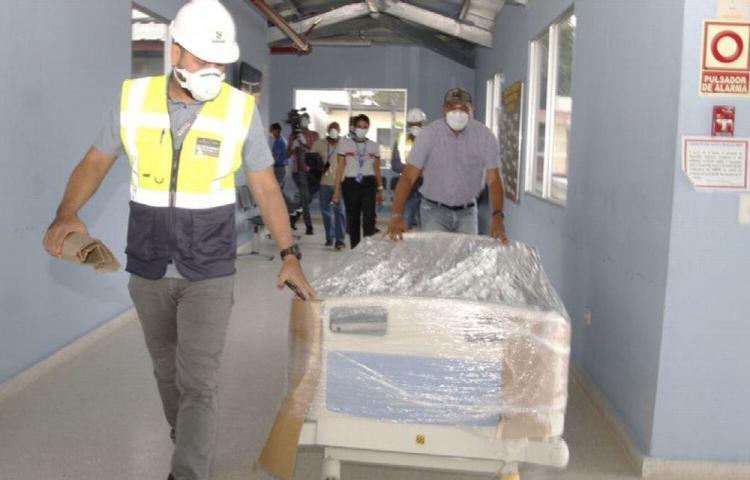 Instalaciones del Inmfre están listas para los pacientes