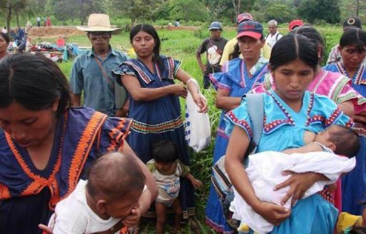 Temen que indígenas vivan horror por coronavirus