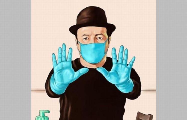 Rubén Blades exhorta a cumplir normas de salud