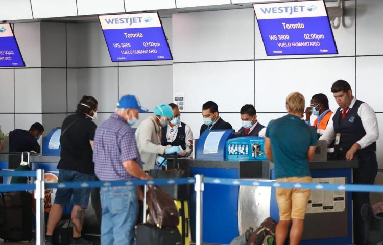 Panamá ha realizado 15 vuelos humanitarios