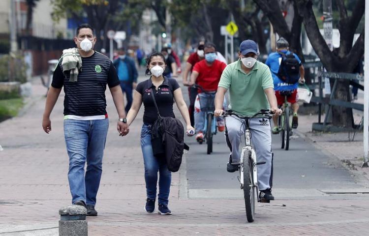 Colombia tiene 2.852 contagiados de COVID-19, con 76 casos más y 112 muertos