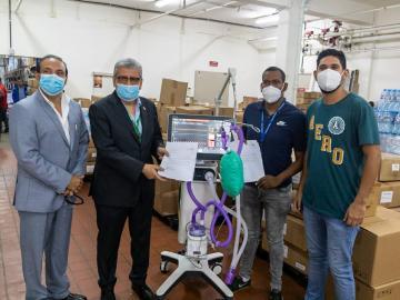 Minsa recibe equipos médicos donados por Copa Airlines
