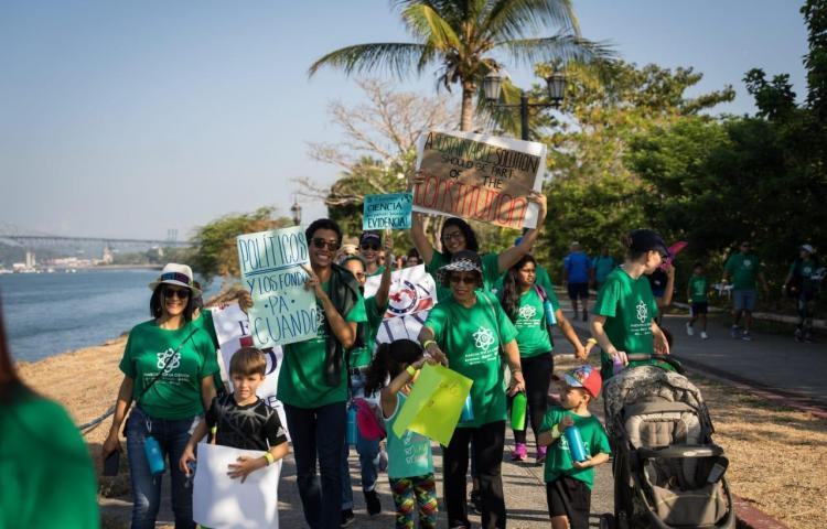Realizarán marcha virtual por la ciencia en Panamá