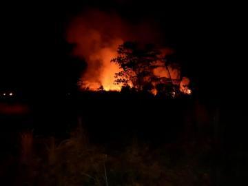 Conato de incendio se registra en los predios el Aeropuerto de Tocumen